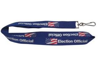 Satin lanyards 1