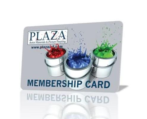 plastic membership cards factory