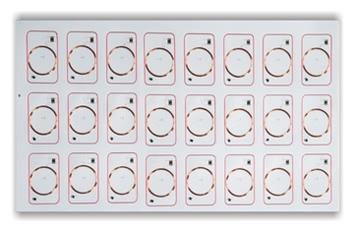 LF RFID Prelam 3x8