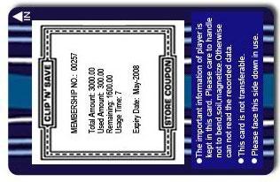 thermal rewritable card