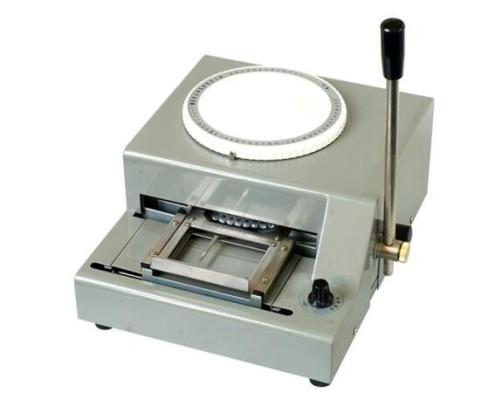 UXK-399-5 Steel Card Embosser