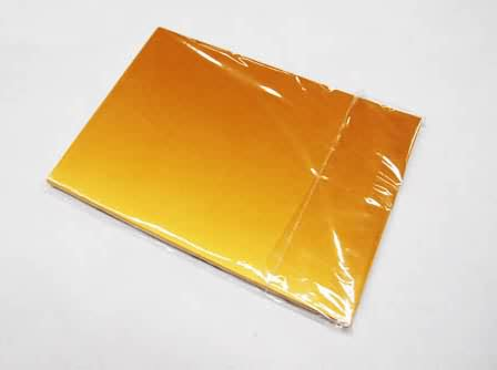 UXK-Inkjet Printing PVC Sheet Gold